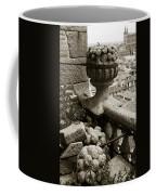 Stone Embellishments Of Jesuits Church Coffee Mug