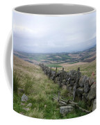 Old Dry Stacked Stone Fence Of Scotland Coffee Mug