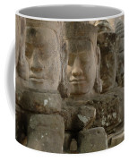 Stone Figures Cambodia Coffee Mug