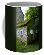 Stone House With Mossy Roof Coffee Mug