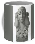 Stone Idol Of The Rain God Cocijo Coffee Mug