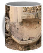 Stone Jar At Temple Of Apollo Coffee Mug