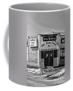 Stone Pony In Black And White Coffee Mug