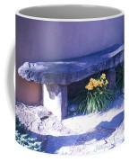 Stone Slab Bench 1 Coffee Mug