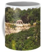 Stone Wall With Gazebo Coffee Mug