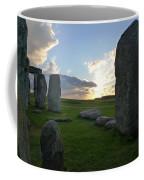 Stonehenge At Dusk Coffee Mug