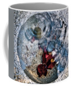 Stones And Fall Leaves Under Water-41 Coffee Mug