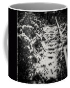 Stony Steps Covered With Snow Coffee Mug