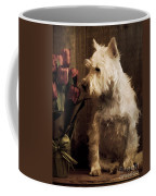 Stop And Smell The Flowers Coffee Mug by Edward Fielding