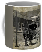 Stopped For A Spell In Sepia Coffee Mug