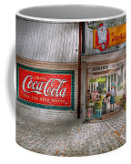 Store Front - Life Is Good Coffee Mug by Mike Savad
