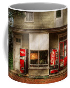 Store Front - Waterford Va - Waterford Market  Coffee Mug by Mike Savad