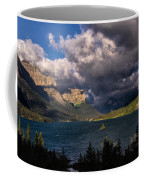 Storm Above St. Mary Lake Coffee Mug