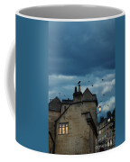 Storm Above Town Coffee Mug