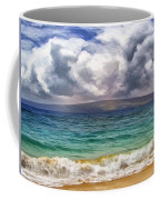 Storm Across The Channel Coffee Mug