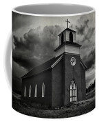 Storm At San Rafael Church Coffee Mug