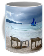 Stormy Beach - Boracay, Philippines Coffee Mug