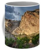 Storm Clouds Above Split Mountain Dinosaur National Monument Coffee Mug