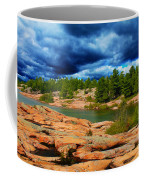 Storm Clouds Approaching Chikanashing Coffee Mug