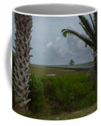 Storm Clouds Near Port Lavaca Coffee Mug