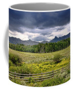 Storm Clouds Over The Rockies Coffee Mug