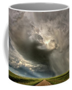 Storm Clouds Prairie Sky Saskatchewan Coffee Mug