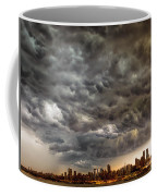 Storm Coulds Over Nyc Coffee Mug