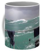 Storm On Tasman Sea Coffee Mug