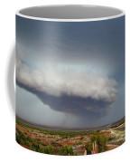 Storm Over Badlands 2am-115139 Coffee Mug