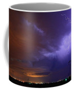 Storm Over Brush Coffee Mug