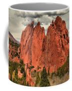 Storm Over Red Rocks Coffee Mug
