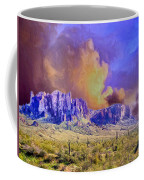 Storm Over The Superstitions Coffee Mug