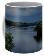 Storm Rolling Over Lake Wausau Coffee Mug