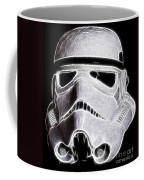 Storm Trooper Helmet Coffee Mug
