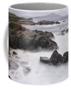 Storm Waves And Cliffs Coffee Mug