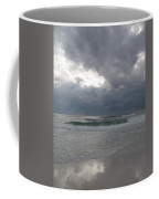 Stormclouds Over The Sea Coffee Mug