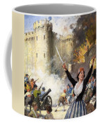 Storming The Bastille Coffee Mug