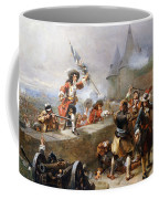 Storming The Battlements Coffee Mug