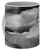 Storms Aloft B W Coffee Mug