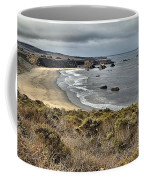 Storms Over An Unspoiled Beach Coffee Mug