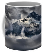Storms Over Jagged Peaks Coffee Mug