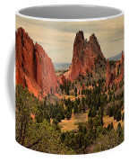 Storms Passing Over The Garden Coffee Mug