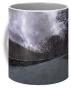Stormy Blue Ridge Parkway Coffee Mug by Betsy Knapp