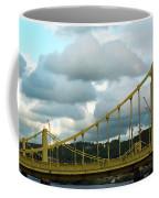 Stormy Bridge Coffee Mug by Frank Romeo