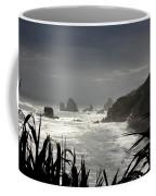 Stormy Coast New Zealand Coffee Mug