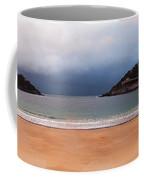 Stormy Day On The Beach Coffee Mug