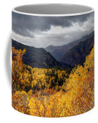 Stormy Fall Along The Alpine Loop - Utah Coffee Mug