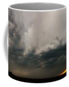 Stormy Nebraska Sunset Coffee Mug