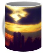 Stormy Silhouette Sunset Coffee Mug