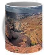 Stormy Skies In Canyonlands Coffee Mug